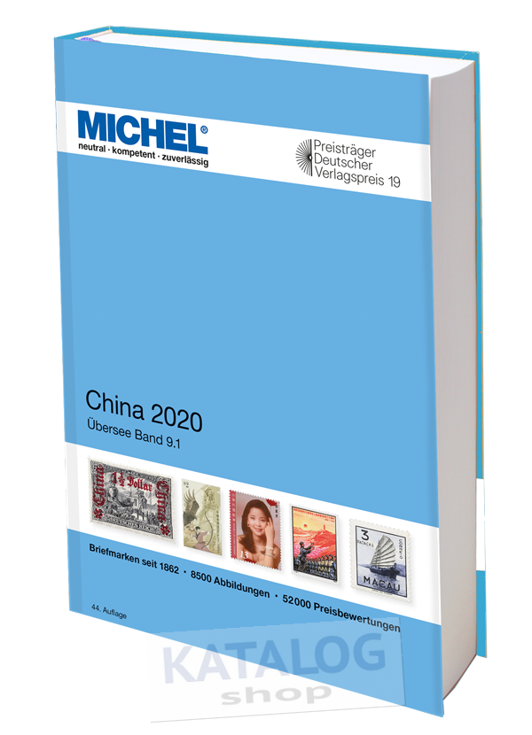 China 2020 MICHEL katalog známek